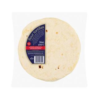 Blue Shirt Tortillas 6ea