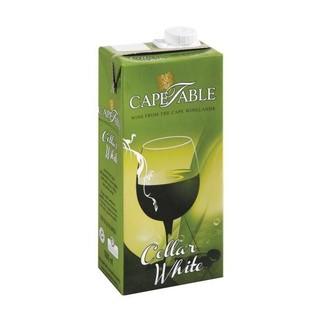 Cape Table Cellar White Tetrapak 1 Litre