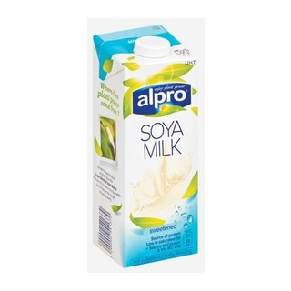 Alpro Soya Drink Natural and Calcium  1 Litre
