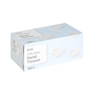 PnP Facial Tissue White 180