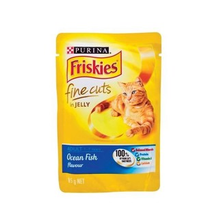 Friskies Ocean Fish Fine Cut s Cat Food 85g