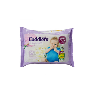 Cuddlers Baby Wipes 24