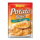 Royco Cheddar Cheese & Onion  Mix Potato Bake 43g