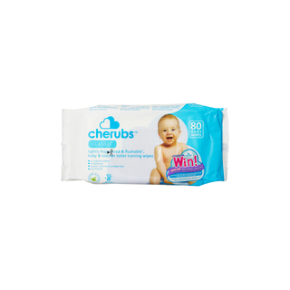 Cherubs Moist Baby Wipes Refill Pack 80s