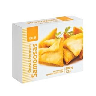 Pnp Sweetcorn And Cheese Samoosas 12ea