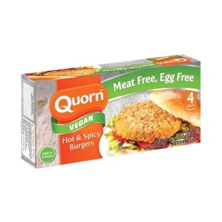Quorn Vegan Burger Hot & Spicy 264g