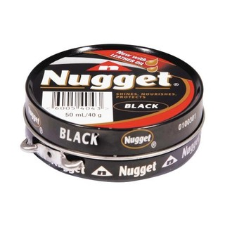 Nugget Black Shoe Polish 50 Ml