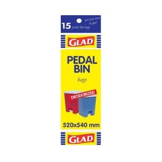 Glad Pedalbin Bags 520 X 540 Mm 15