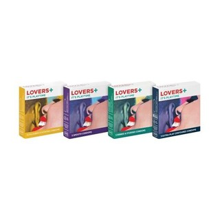 Lovers Plus Condoms 3ea