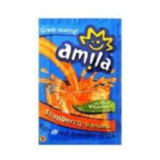 Amila Banana And Strawberry Drink 45g