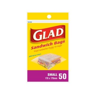 Glad Small Sandwich Bags 140 170mm 50