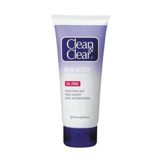 Clean And Clear Dual Action Moisturiser 100 ML