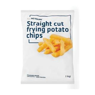 No Name Straight Cut Fry Chips 1kg