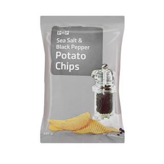 PnP Sea Salt And Pepper Chips 125g
