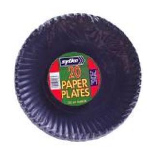Sylko Pastel Paper Plates 230mm 20s