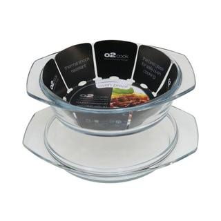 02 Cook 1.5l Round Casserole With Lid