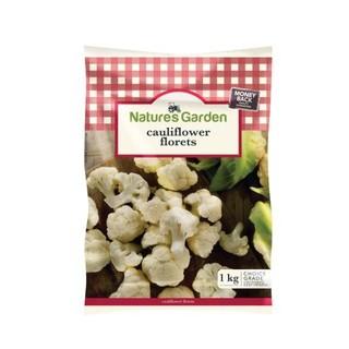 Natures Garden Cauliflower Florets 1kg