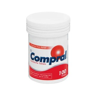 Compral Fast Acting Headache Tablets 100