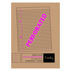 Croxley A4 72 Page Easy File Exercise Book