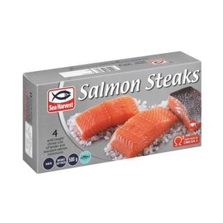 Sea Harvest Salmon Steaks 500g