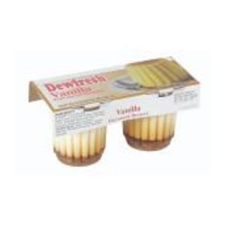 Dewfresh Vanilla Flavoured D essert 2X100 2