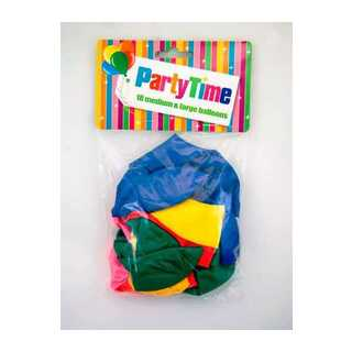 Party Time 18 M&l Balloons Assorted 1ea