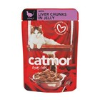 Catmor Liver In Jelly Adult 85g x 36