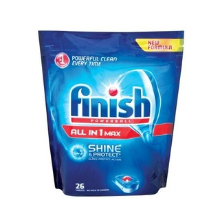 Finish Dishwasher Tabs Regular 26ea
