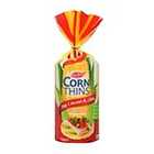 Real Foods Soy & Linseed Corn Thins 150g