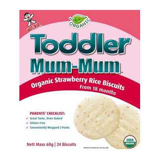 Toddler Mum Strawberry Biscuits 60g