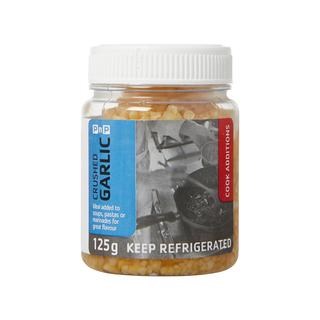 PnP Crushed Garlic 125g