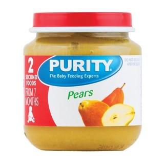 Purity 2nd Foods Pears 125ml x 6