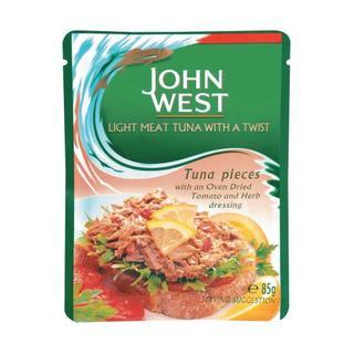 John West Tuna Pouches With Tomato 85g