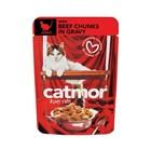 Catmor Adult Beef In Gravy 85g x 36