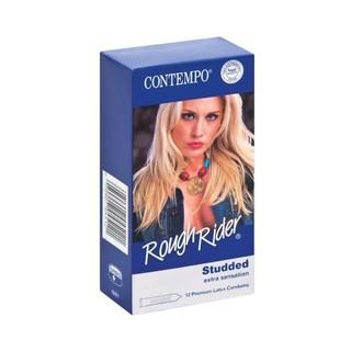 Contempo Rough Rider Condoms 12ea