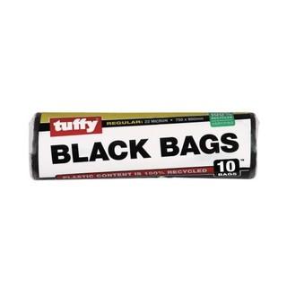 Tuffy Black Refuse Bag On A Roll 10ea